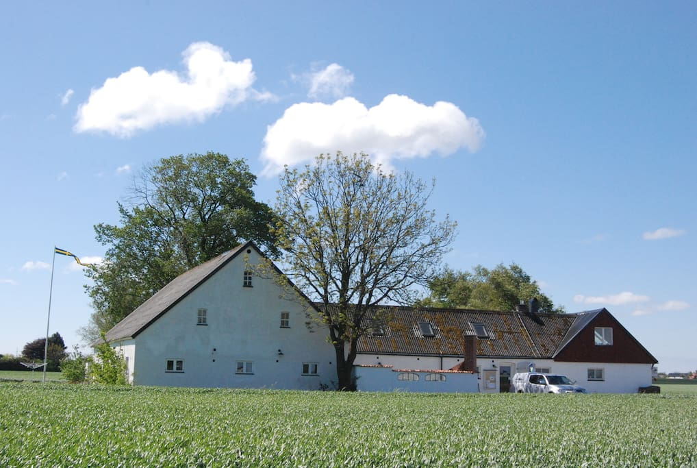 View of the farm