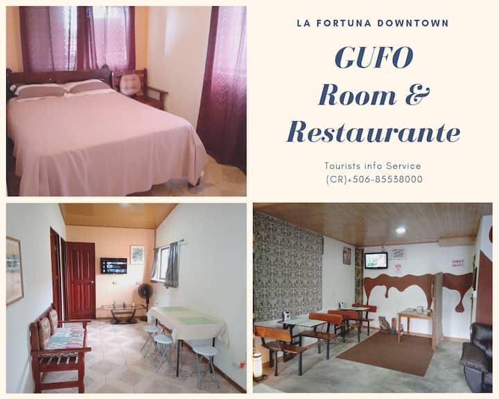 Gufo, Room y Restaurante/ La Fortuna