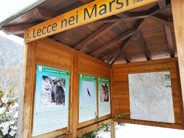 Abruzzo Appartamento in montagna La Tana dell'Orso