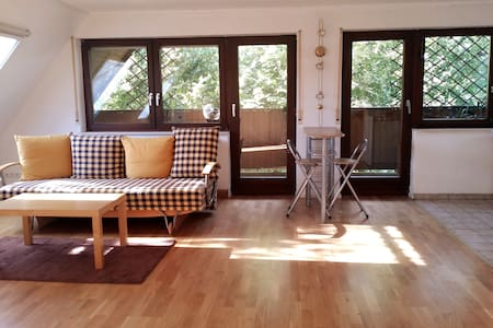 ⭐ 15 mins train to Heidelberg 70m² Free parking!