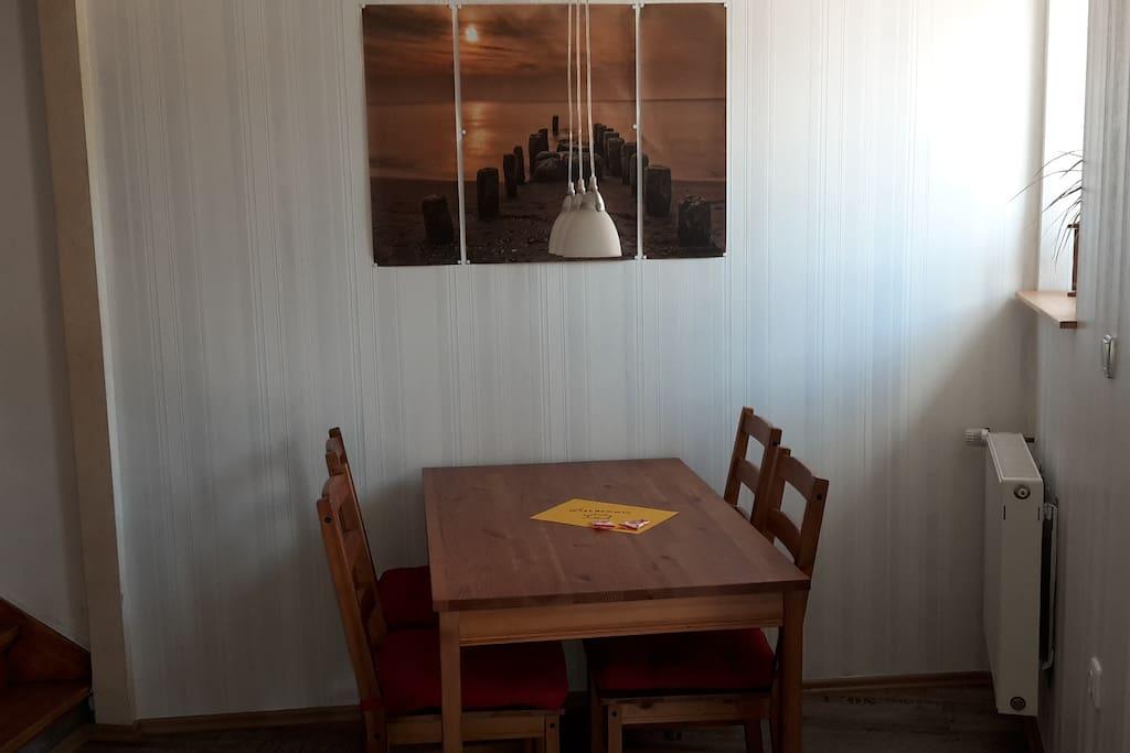 Küche Essplatz für 5 Personen