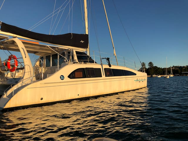Luxury 12m Catamaran with the best views in Sydney