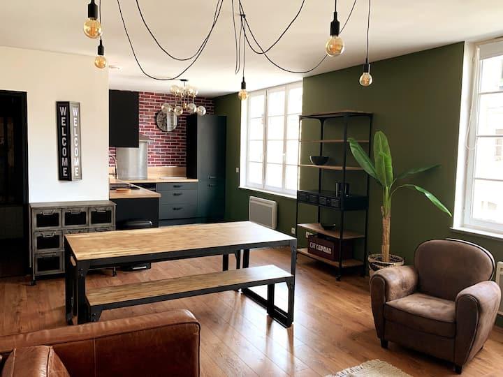 Bel appartement de 70m2 hypercentre de Blois