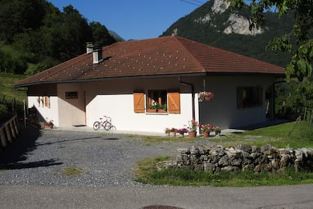 beautiful panorama for this house! - Saint-Ferréol - House