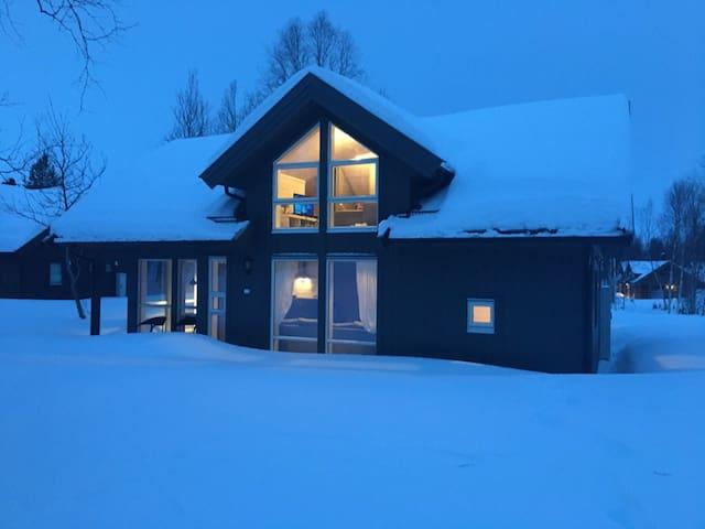 Flott hytte i Sulitjelma fjellandsby