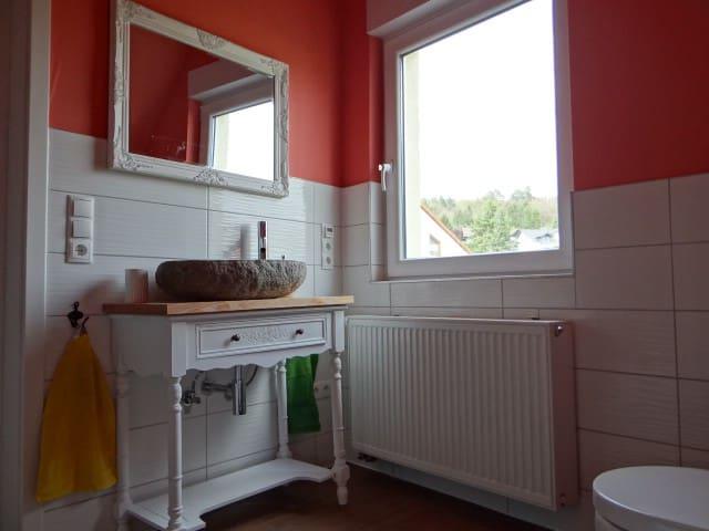 Traumhafter Waschplatz im Badezimmer