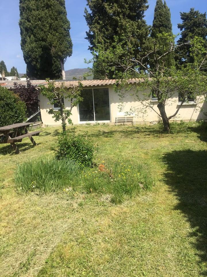 maisonette 2 pieces avec jardin