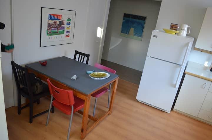 Appartement centre-ville, tranquille et chic!