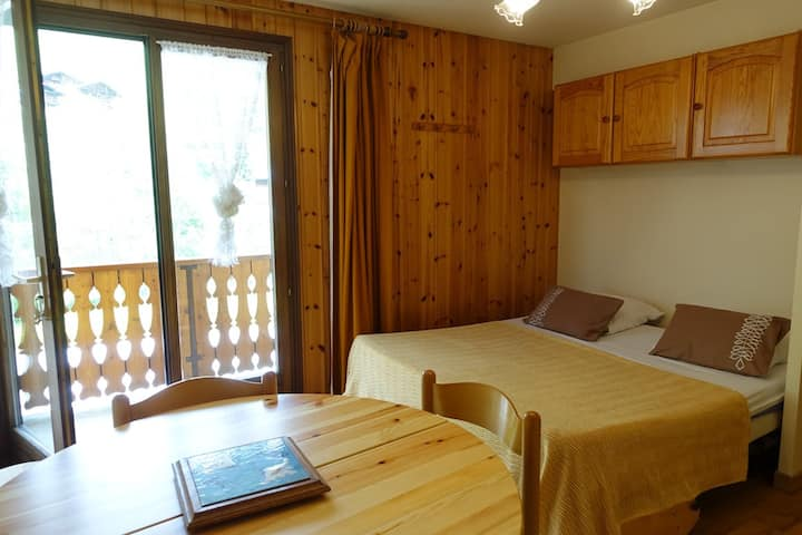 Apartment for 6 people on the slopes