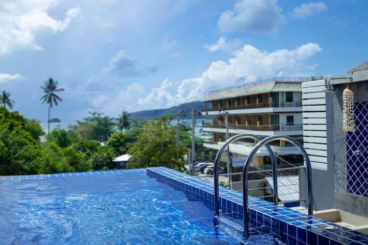 Rawai Sea View Pool Villa One Bedroom拉威海景泳池别墅独立房间
