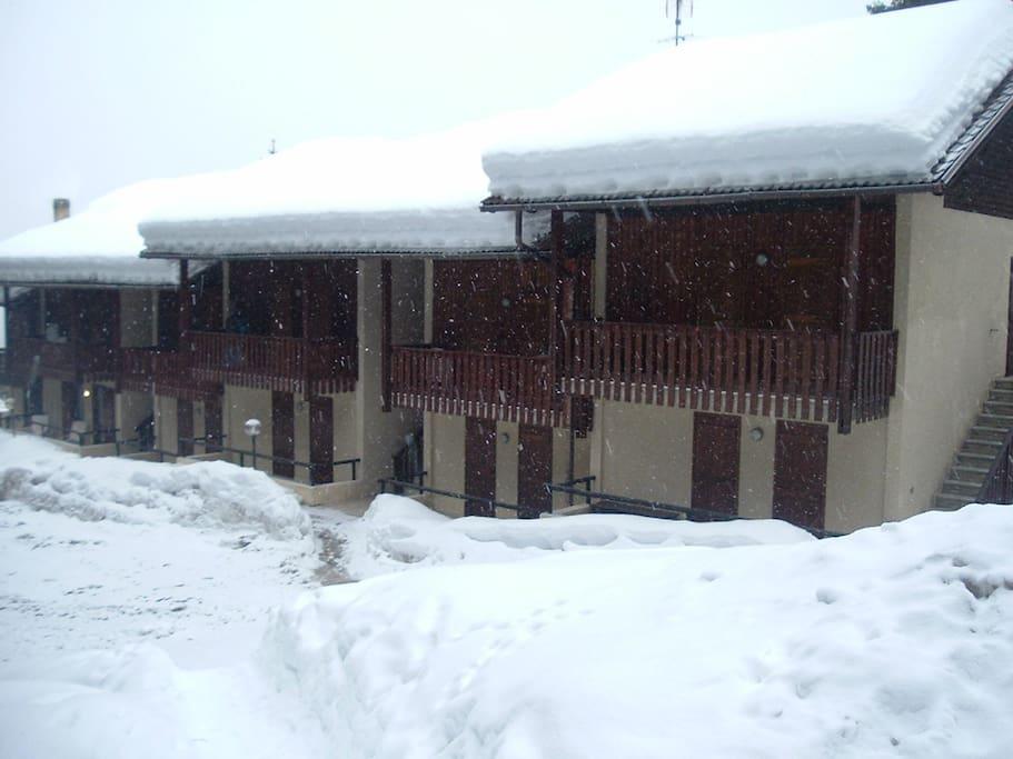 Inverno- con accesso diretto alle piste da sci - Agenzia AlpenSole -