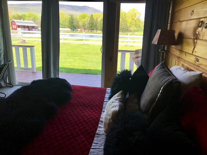 LUXURY ROOM in the beautiful Catskill Farm