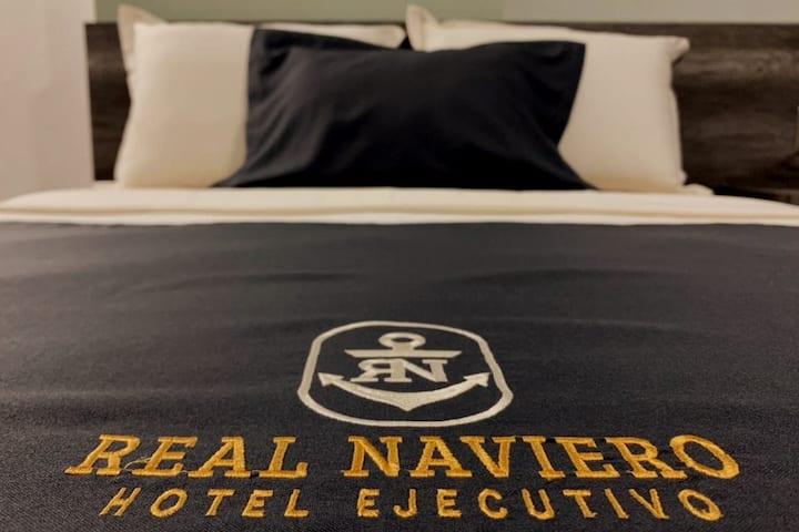 HOTEL EJECUTIVO REAL NAVIERO HABITACION SENCILLA