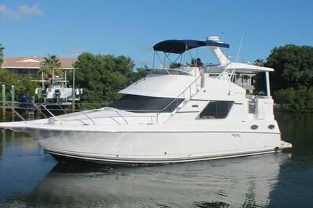 Beautiful Yacht with FREE Jet Ski - Palm Beach Gardens - Boot
