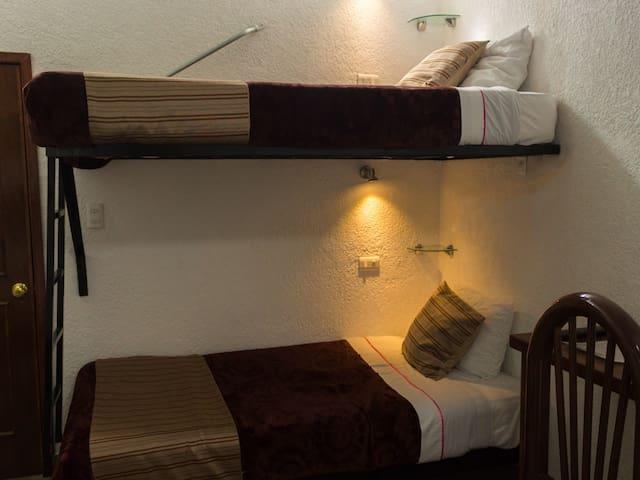 Habitación con Litera