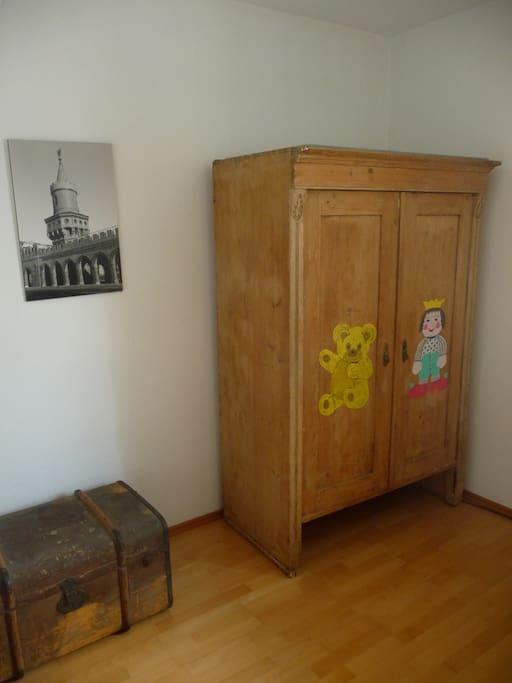 Schlafzimmer: Schrank und Stauraum