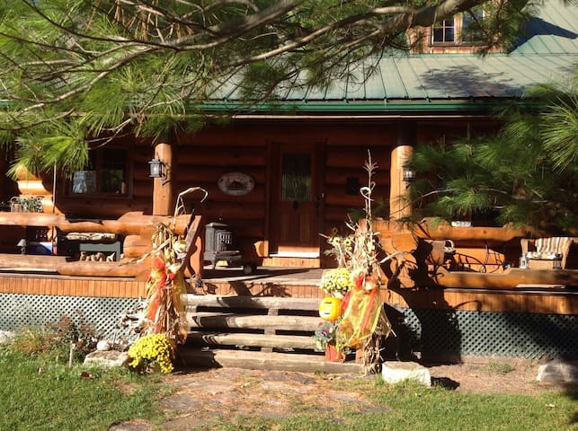 Private Rooms available in Log Home
