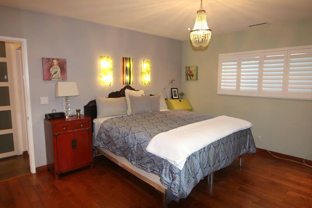 Cal King - Master bedroom