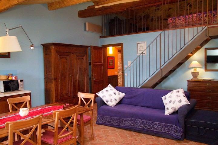Toscana, appartamento-casa vacanze, Azzurro