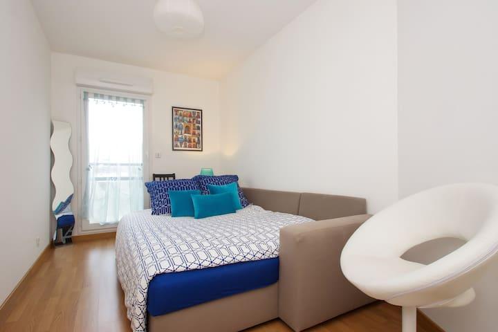 Chambre cosy et accueil chaleureux - Rennes - Apartment