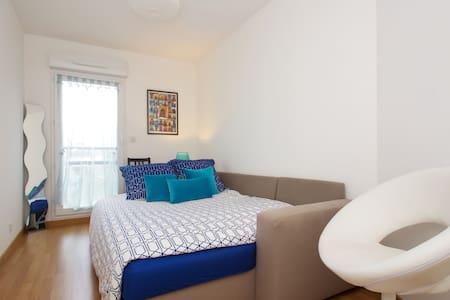 Chambre cosy et accueil chaleureux - Appartement