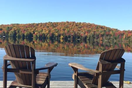 Petit chalet sur le lac... Quai pour vous seuls!