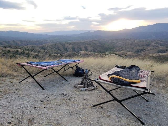 Camping en la sierra @ El Aribabi