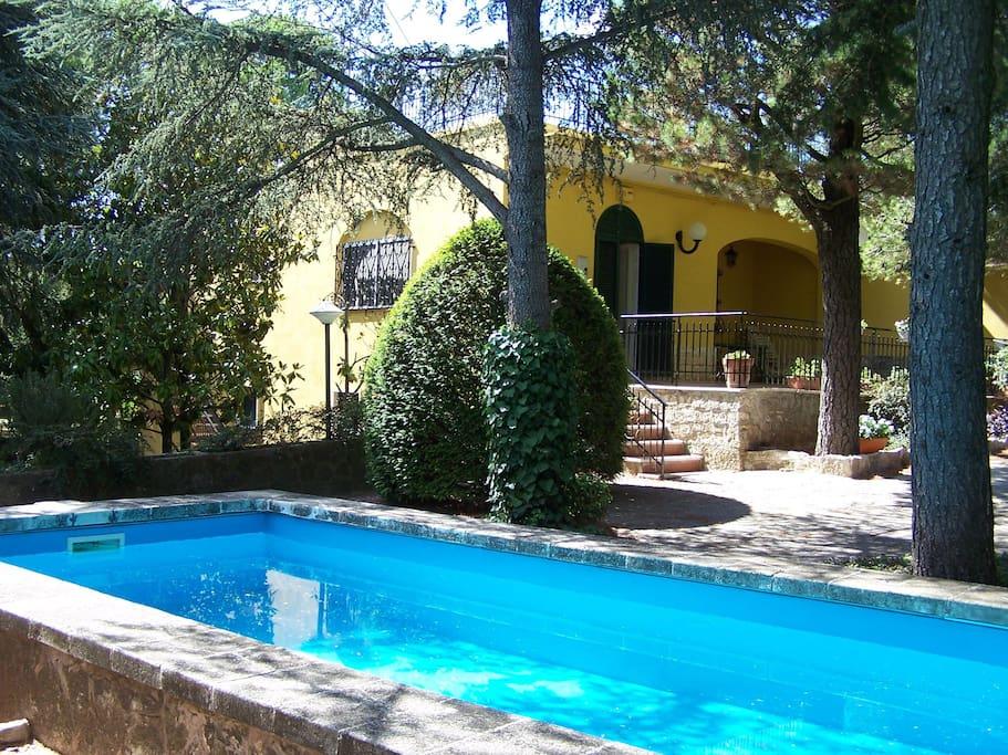 villa pini con piscina e parco villas for rent in selva