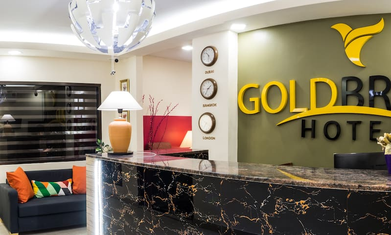 Goldbrick hotel Master suite 1