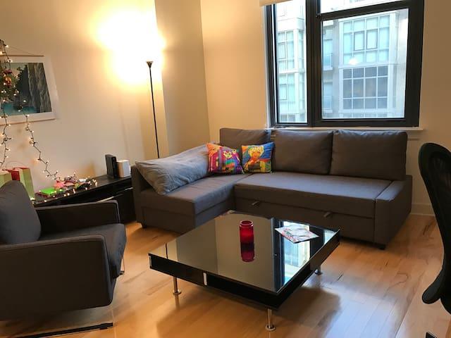 1BR Apartment with Balcony & Amenities (Chinatown) - Washington - Apartamento