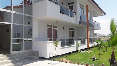 Lyxigt 1+1 lägenhetshotell i Side Evrenseki