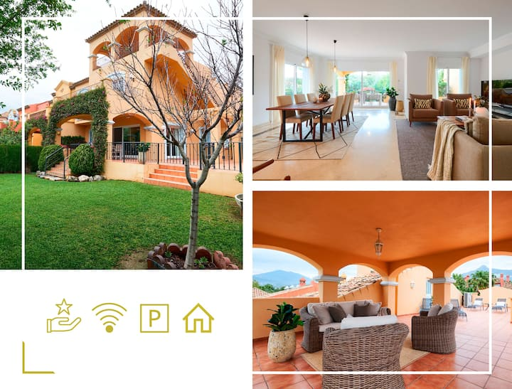 Luxurious and Spacious Townhouse -w/ BBQ, & Garden