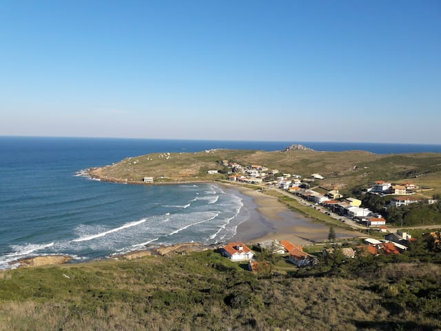 Loft: Praia da Tereza, Laguna (beira da praia)