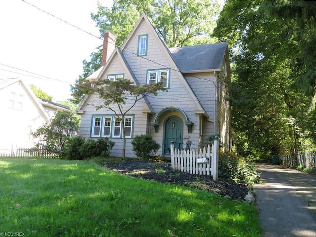Classic tudor-style close to College of Wooster