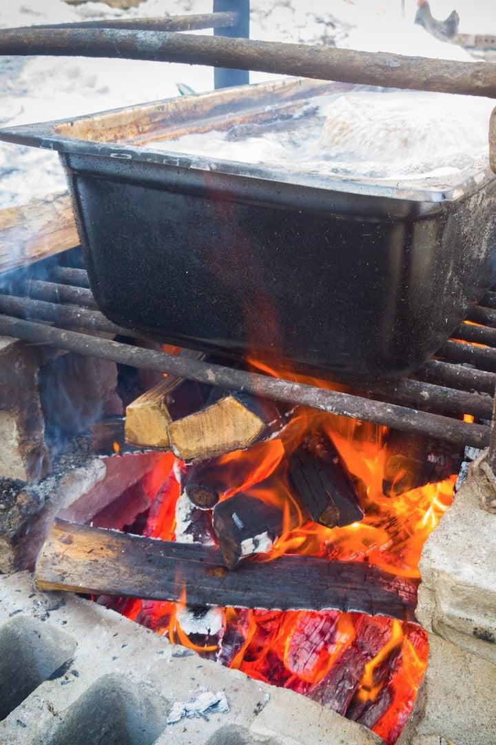 Maple campfire.