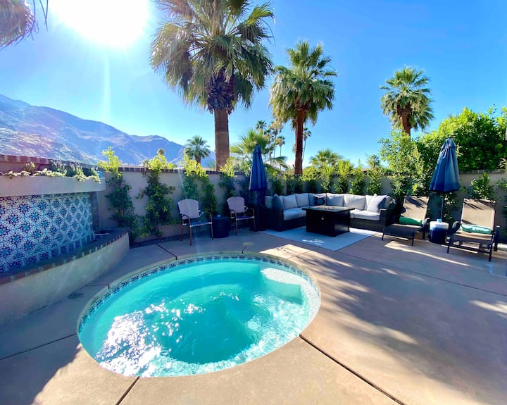 Private Villa & Spa in Downtown Palm Springs