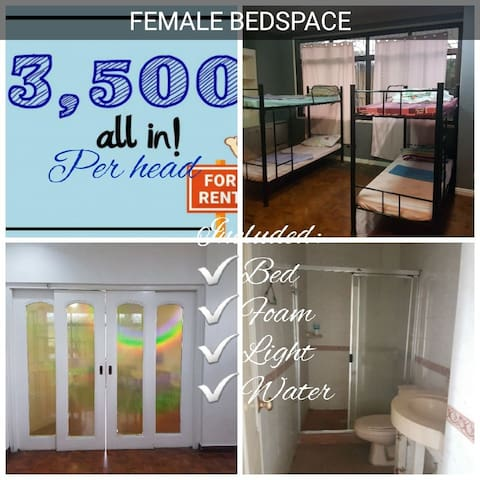 Female Bedspacer metro manila
