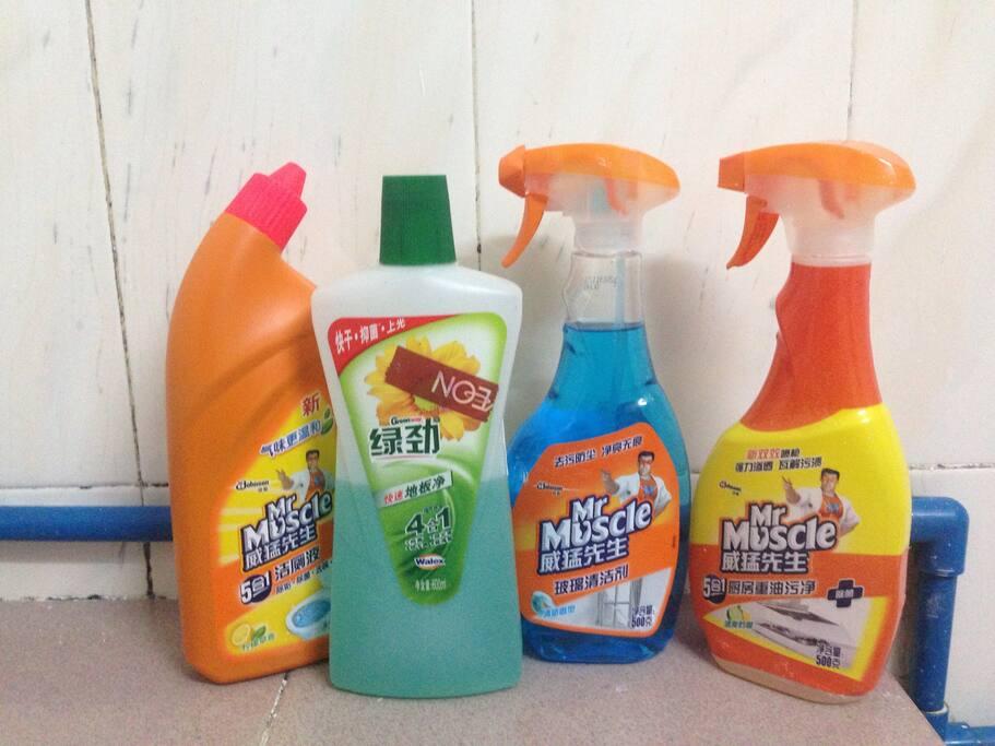 专业清洁工具,为您卫生护航