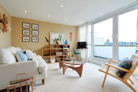 Designer 1bed in Fulham 3mins to tube w/ balcony