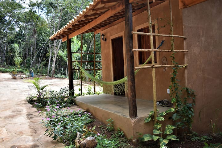 Rustic Eco Bungalow (dry toilet,kitchen,mezzanine)