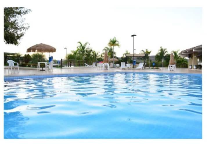Enseada Náutico Residence AphartHotel Caldas Novas