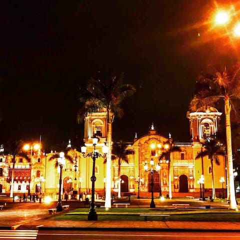 Plaza De Armas 5 minute straight walk from my building