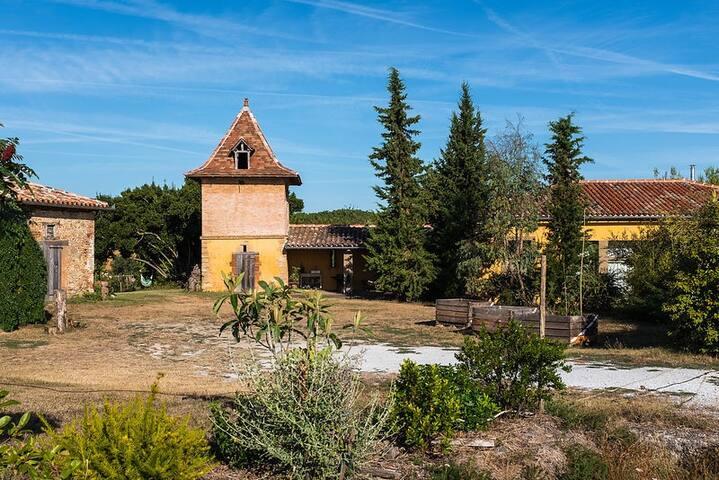 Ancienne maison pleine de charme, proche Toulouse