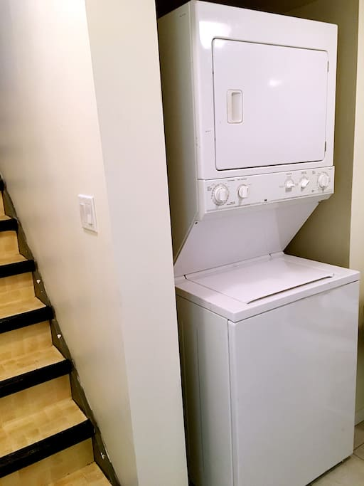 washer and dryer as you need