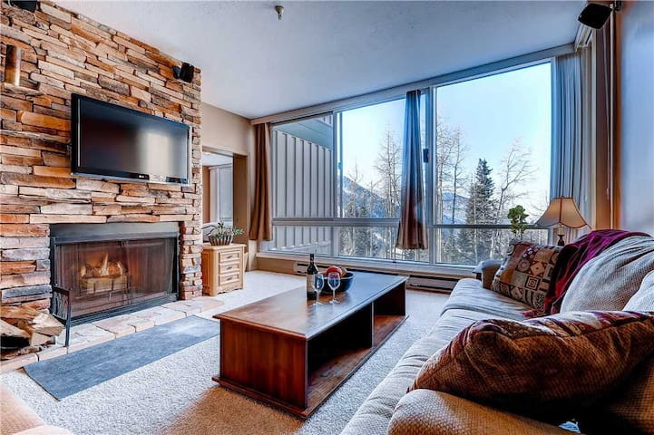 Gorgeous Ski in/Ski Out Condominium with Wood Fireplace and and Mountain Views - The View #4