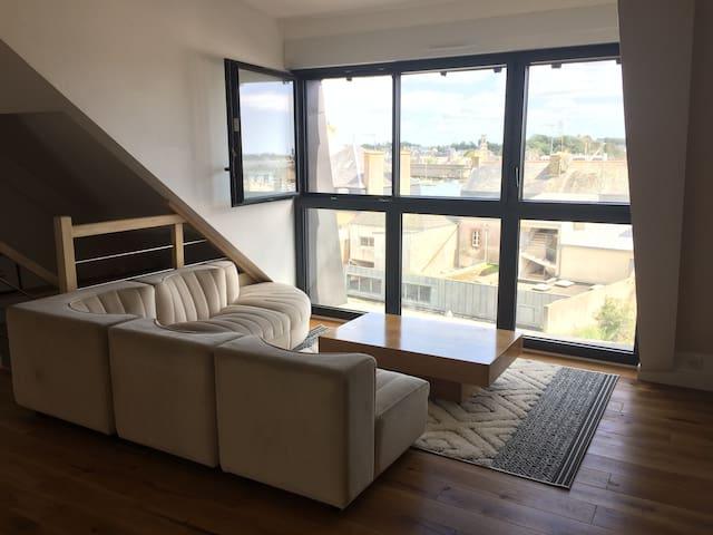 La Baleinière -  « Appartement-Cabane »  avec vue