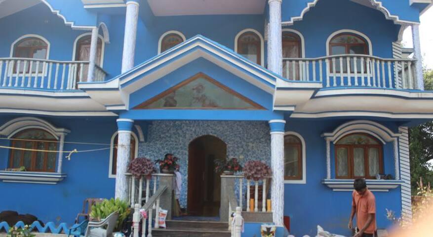 1 Bhk Blue Apartment @ Benaulim