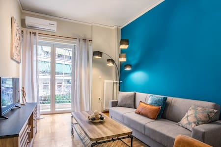 Cozy fully furnished 1BR, walk to metro station