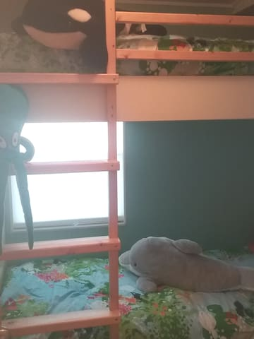 New bunk bed room!!!