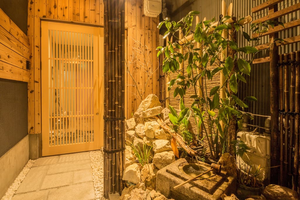 You'll be welcomed by authentic Japanese feel.